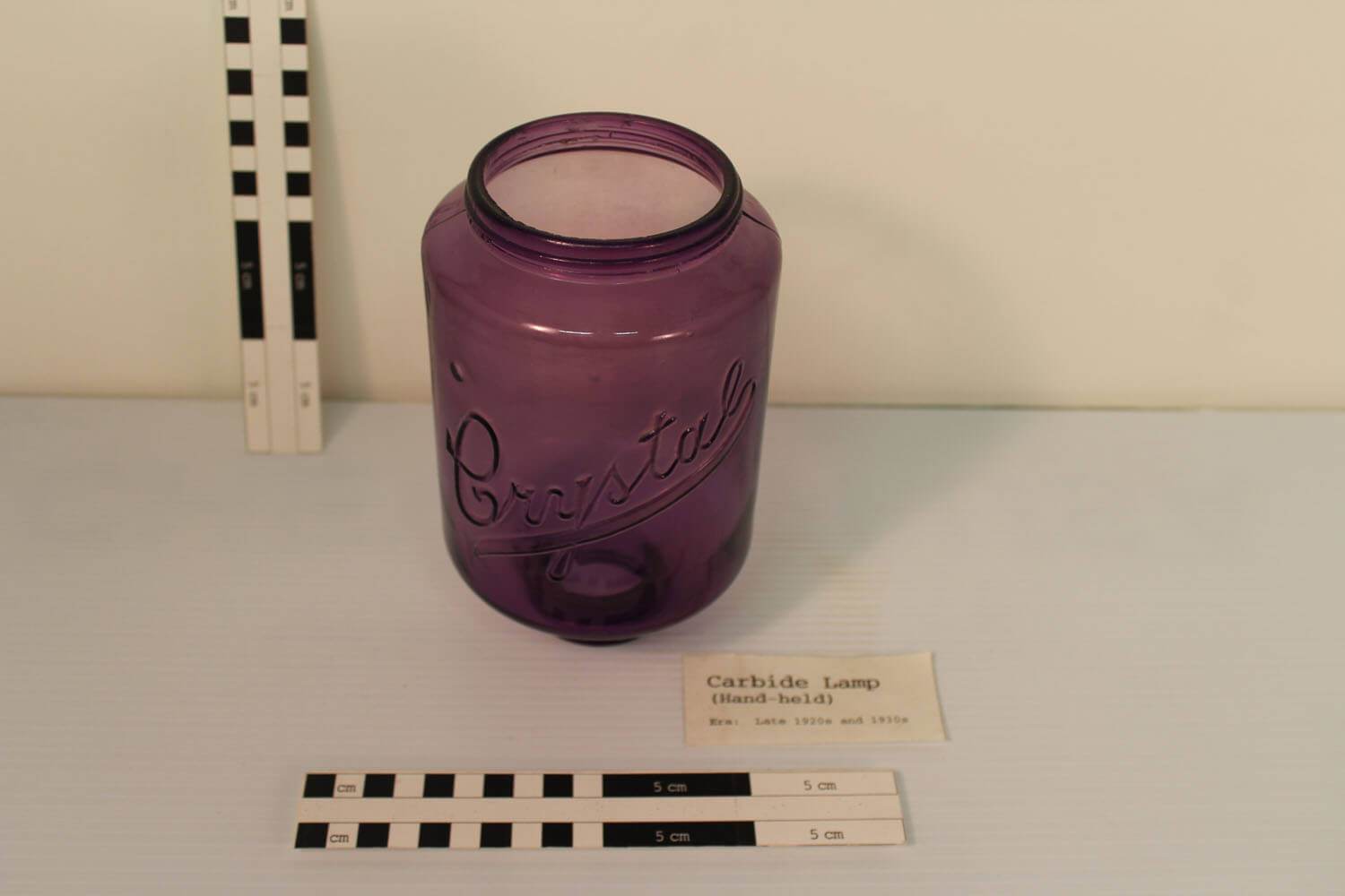 Handheld lamp from the BLM Collection.